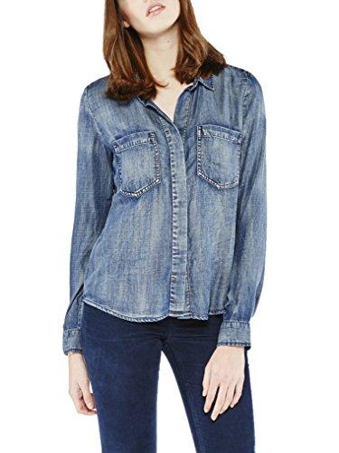 COLORADO DENIM Damen Hemd , Blau (Medium Blue 310), 40 (Herstellergröße: L)
