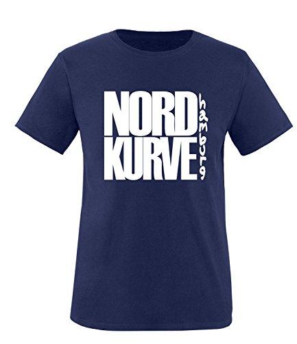 Luckja Nordkurve HamburgKinder T-Shirt, Navy / Bunt, 152/164