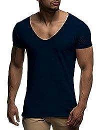 Camisas casual Hombre ❤️Amlaiworld Moda Camiseta Hombre de Verano Irregular Ajustada de Algodón de Manga Corta Blusa Tops…