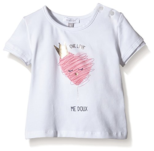 Absorba Tee-Shirt-T-shirt  Bimbo 0-24, Bianco, 18-24