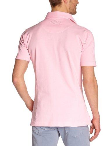 Fernand Bachmann Herren Polo Shirt  ,Uni Pink
