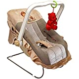Ehomekart Musical Carry Cot Cum Bouncer - 12 In 1 With Storage Box (Print May Vary) - FEEDING CHAIR, BABY CHAIR, ROCKER, BATH TUB, CARRYING, BOUNCER & BABY SWING