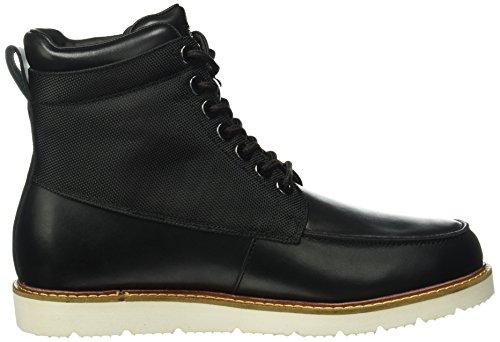 Armani Jeans 9350526a452, Bottes homme Noir - Schwarz (NERO 00020)
