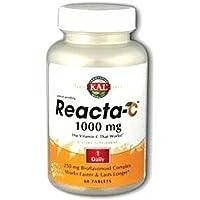 Reacta C Kal 60 comprimidos de 1000 mg. de Solaray