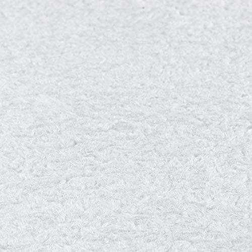 Baumwollputz Schneeweiß - reinweiße Flüssigtapete für ca. 4m² - natürliche Wandbeschichtung aus Baumwolle