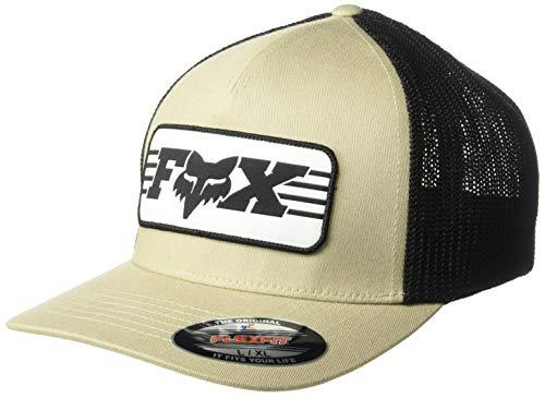 Imagen de fox  muffler sand flexfit trucker