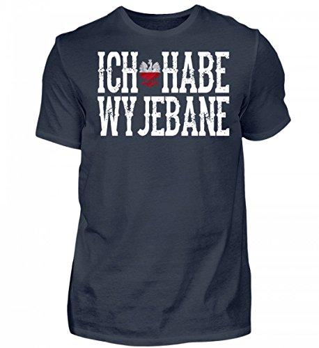Hochwertiges Herren Organic Shirt - Polen- Ich Habe wyjebane