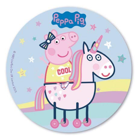 Oblea Peppa Pig 20 cm