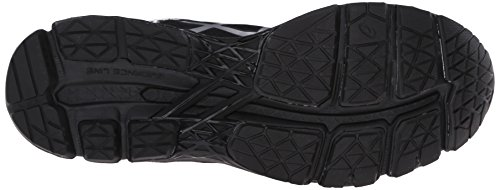 Asics Plata Zapato 22 Gel Kayano Ónix Corriente Sintética Carbón vq0v4rgZw