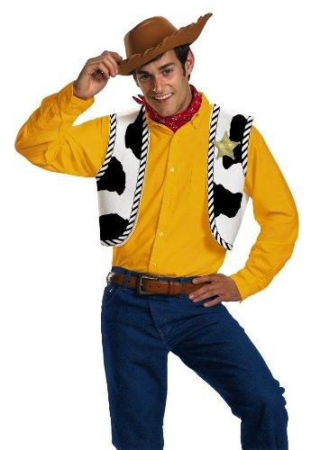 Kost-me f-r alle Gelegenheiten DG23433 Woody Kit Erwachsene (Erwachsene Woody Kostüme)