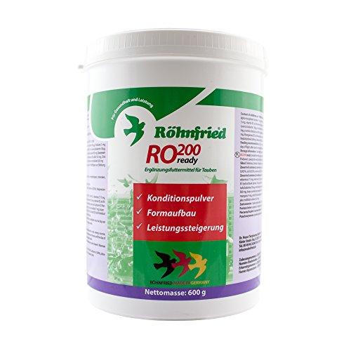 Früher Aminosäuren (Röhnfried RO 200 ready - zur Formaufbau für Brieftauben zum Flugtag (600 g))