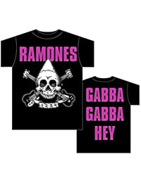 Ramones - Pinehead Skull Band T-Shirt