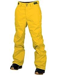 Dos pies descalzos de los niños martillo de carpintero pantalones de esquí niños nieve esquí pantalones, Infantil, color Sun Yellow, tamaño 176