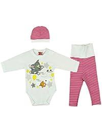Leggings Baby /& Kinder 50 56 62 68 74 80-116 Capri Hose Weiß Taufe festlich NEU