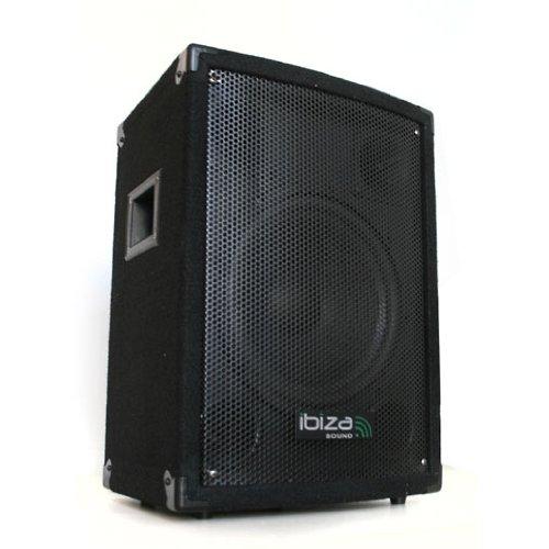 Ibiza Profi Monitor 25cm (10 Zoll) 3-Wege PA Lautsprecher für OnStage/Home Setup