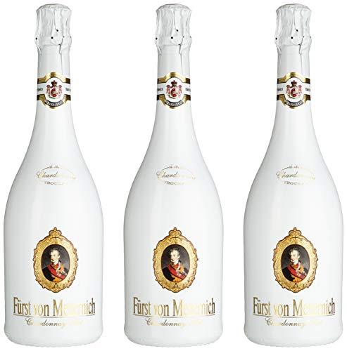 Fürst von Metternich Chardonnay Sekt Trocken (3 x 0.75 l)