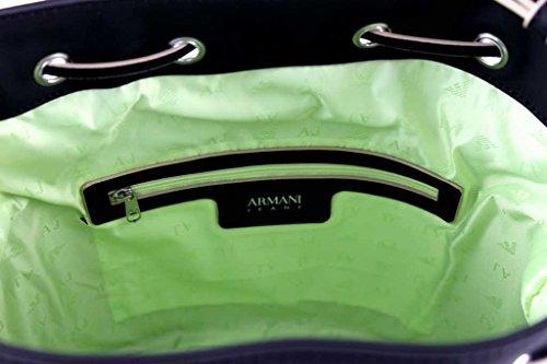 Armani Jeans Tasche Umhängetasche Messenger Beuteltasche Bag 922212 Schwarz