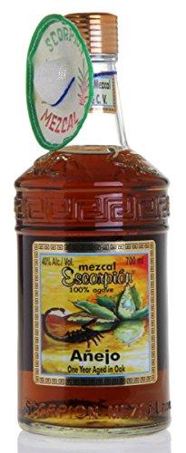 ESCORPION Mezcal ANEJO mit echtem Skorpion (1 x 700ml)