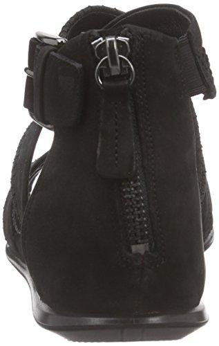 Ecco Ecco Touch Sandal, Sandales Bride cheville femme Noir - Schwarz (BLACK/BLACK51707)