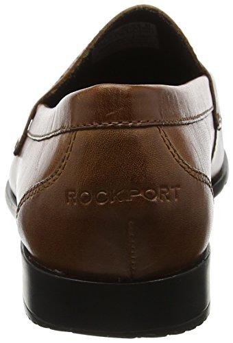 Rockport Herren Classic Mocassino Penny Cognac Slipper Braun (cognac)