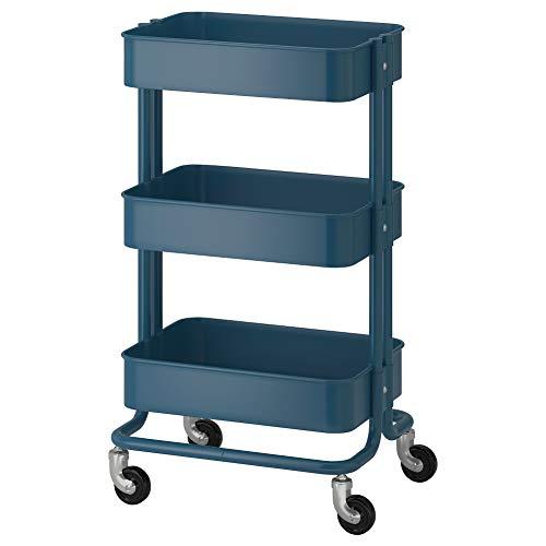 IKEA ASIA RASKOG Trolley dunkelblau