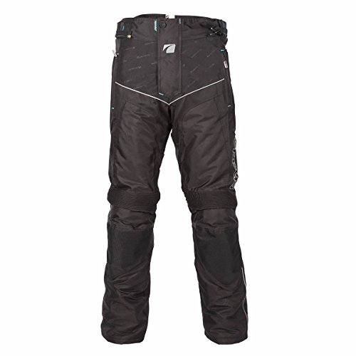 Spada Signore moto tessile pantaloni Modena gamba corta nero