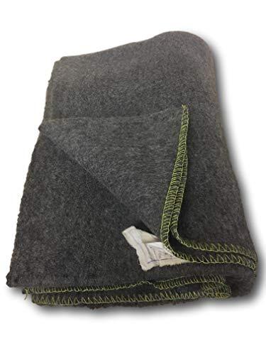 Ejército yugoslavo 100% manta de lana