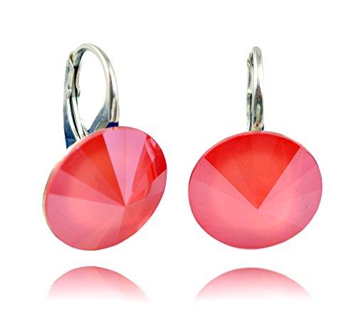 8840116285c9 1 - Crystals   Stones   Light Coral     Rivoli   14 MM – Schön