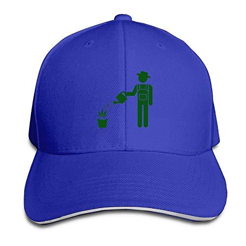 Gxdchfj Cannabis Leaf Baseball Cap for Men Women Low Profile Running 5 Panel Hats Fashion30 Low Profile 5-panel -