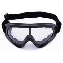 Sunday Gafas de esquí Gafas de skate con 100% Protección UV400 Resistencia al viento Lentes anti-reflejo y aislamiento a prueba de polvo para hombres Mujeres