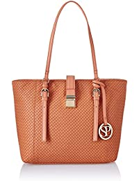 Satya Paul Women's Handbag (Peach)