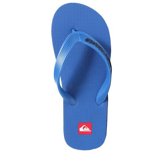 Quiksilver Little Kids Sandals Molokai Nero (Blue Black Blue)