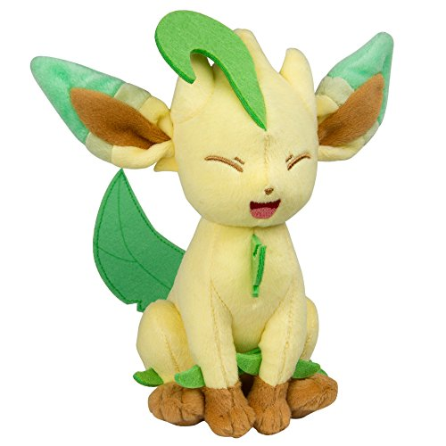 Pokemon Leafeon 8 inch Collectable Plush Toy