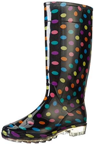 Mesdames Wellies Femmes neige pluie Festival de Wellington Bottes Taille EUR 37, 38, 39.5, 41-MULTI-5