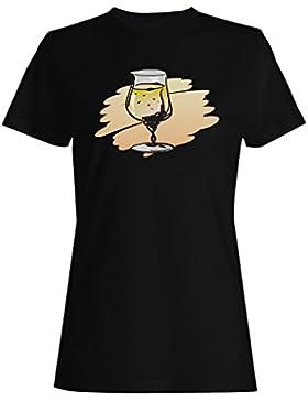 Cócteles, bebida, fresco, jugo, divertido, regalo camiseta de las mujeres d565f
