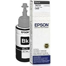 Epson T6731 Negro cartucho de tinta - Cartucho de tinta para impresoras (Negro, Epson L800, Negro, Inyección de tinta, Caja)