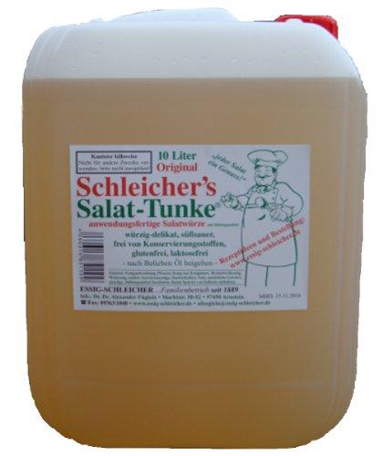 Original Schleicher's Salat-Tunke 10 Liter