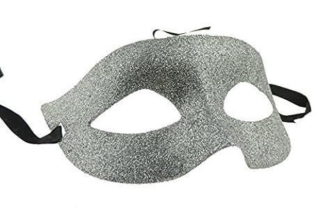 Fun Cheap Halloween - Ladies Mens Venetian Glitter Masquerade Ball Fancy