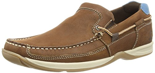 Chatham Marine Bowker, Mocassins homme Marron (Clair)