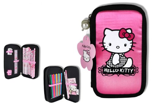 Hello Kitty estuche 26 teillig doble relleno de pasteles