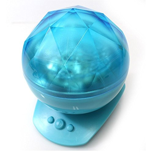 LED Wave Night Light Proyector Diamond