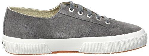 Superga 2750 SUEU, Sneaker Donna Grau (Grey Stone F White)