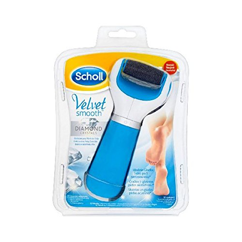 Scholl Velvet Smooth Express Pedi bleue