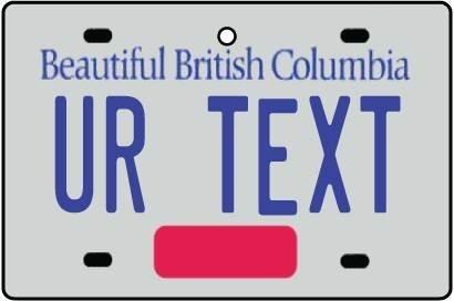 personalised-british-columbia-license-plate-car-air-freshener