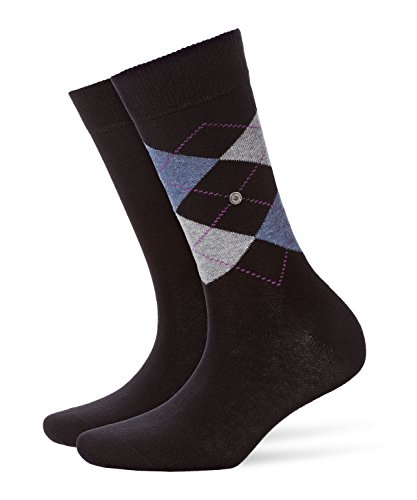 Burlington Damen Everyday Socken, Blickdicht, Black, 36-41 (2er Pack)