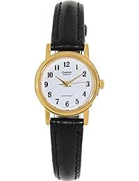 CASIO 19053 LTP-10 - Reloj Señora  cuarzo correa piel dial blanco