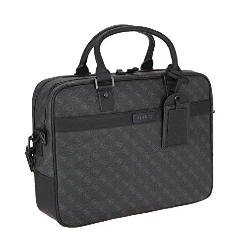 Guess sac porte-documents homme noir