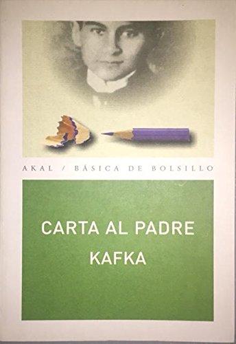 Carta al padre (Básica de Bolsillo) por Franz Kafka