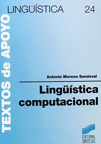 Linguistica Computacional por Antonio Moreno Sandoval