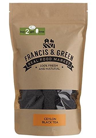 Ceylon Loose Large Leaf Black Tea - Francis & Green, 170g